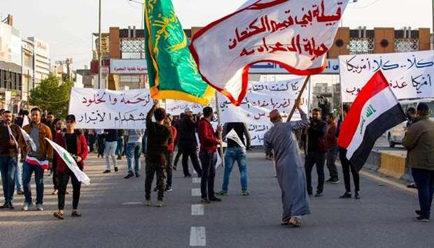 Iran-backed Iraqi militia vows revenge over U.S. airstrikes deadly to 25