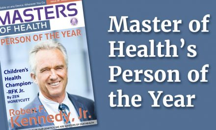 Robert F. Kennedy, Jr. is Masters of Health's Person of the Year