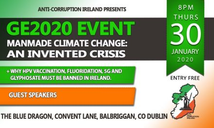 Don't miss our meeting in Balbriggan Tonight on Climate Deception, Fluoridation, 5G and HPV.