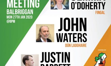 ACI PUBLIC MEETING – Balbriggan 27th Jan 2020