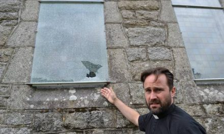 Mindless vandals smash church windows in Baltinglass