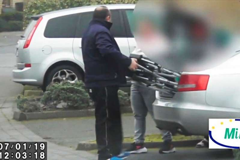 Compo conman spotted using walking stick and parking in disabled spot after 'bogus' injury