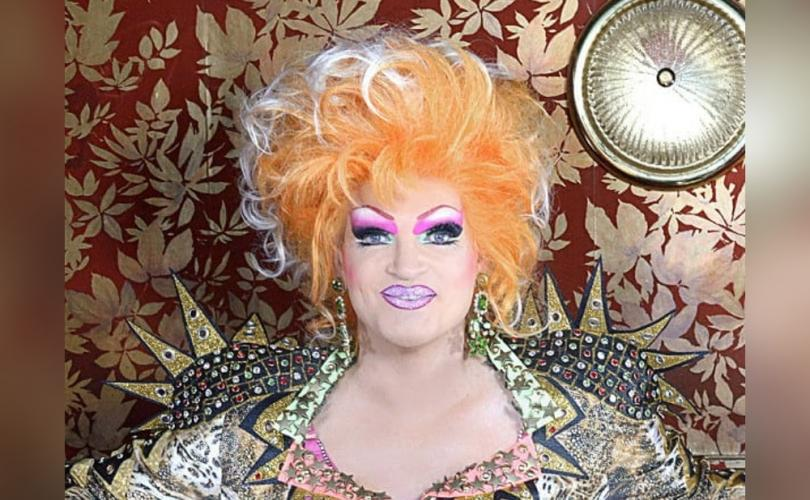 Drag queen hopes to meet Pope Francis in drag, challenge him to accept gay 'marriage'
