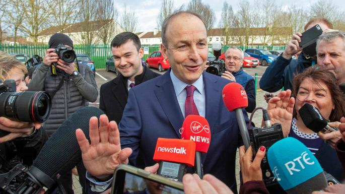 Fianna Fáil targets Fine Gael in coalition talks after ruling out talks with Sinn Féin