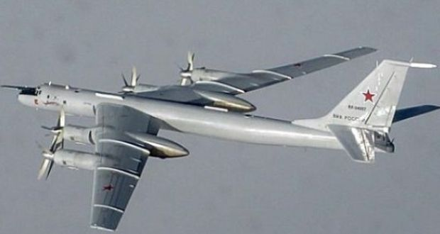 Russian bombers in Irish airspace for second time in days