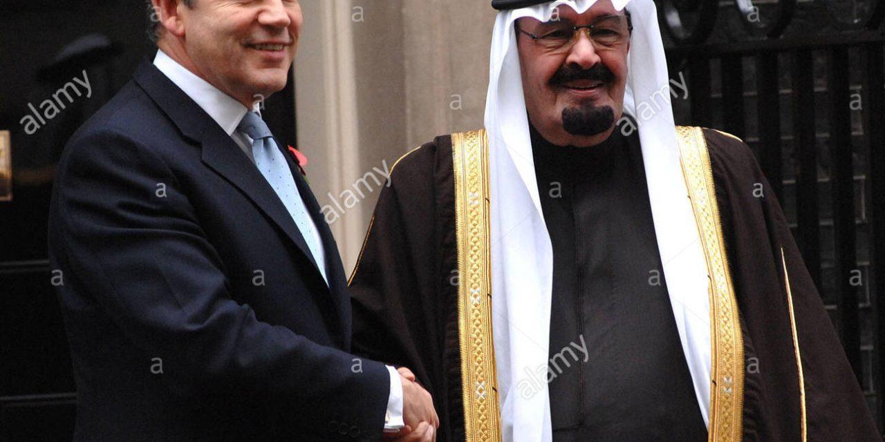 BROWN PAPER ENVELOPE: Ex-PM Gordon Brown 'Let RAPE GANGS Roam Free In Return For Saudi OIL MONEY'