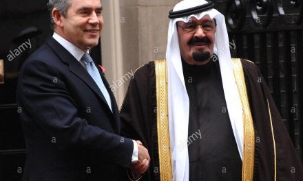 BROWN PAPER ENVELOPE: Ex-PM Gordon Brown 'Let RAPE GANGS Roam Free In Return For Saudi OIL MONEY'