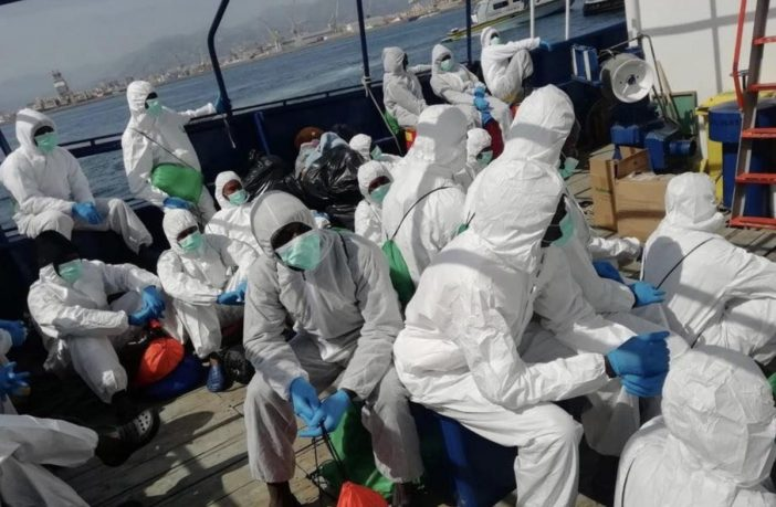ITALIAN PORTS REOPENED: 180 illegal boat migrants to be redistributed across EU amid pandemic