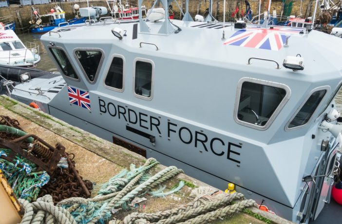 UK: Border force brings another 72 boat migrants to shore