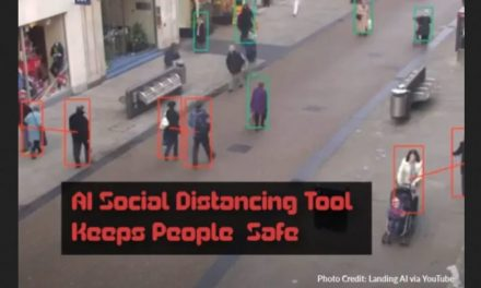 "AI Social Distancing Tool Keeps People ""Safe"""