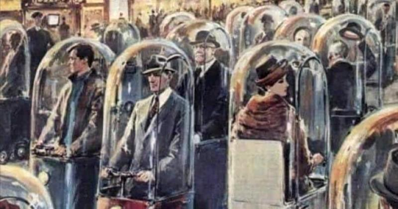 "A 1962 ""Life In 2022"" Image Depicted Everyone Trapped In Pods"