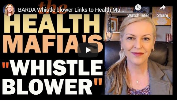 BARDA Whistle blower Links to Health Mafia