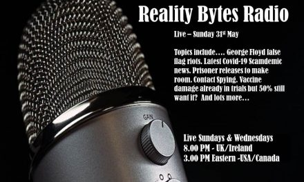 Reality Bytes Radio – Live – Sunday May 31st