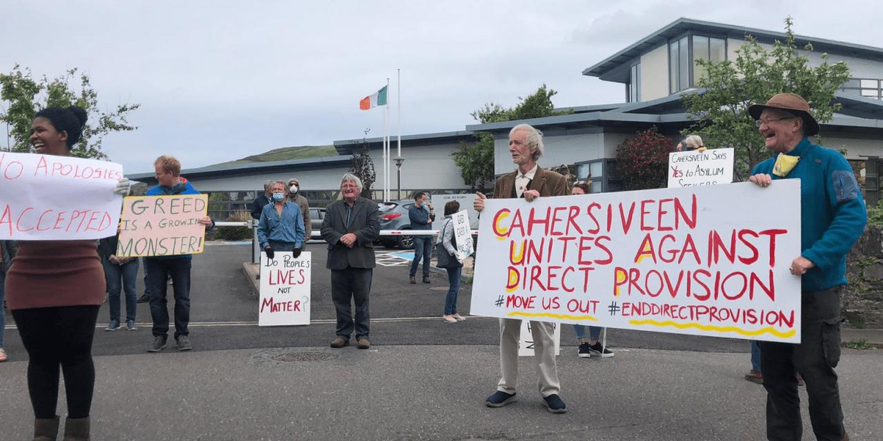 Cahersiveen: Irish Asylum System Enters Meltdown
