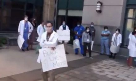 "Black Man Silences #BlackLivesMatter Protesters By Asking: ""Do Aborted Black Babies Matter?"""