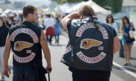 Antifa Reportedly Chased Out of Town by Hell's Angels Biker Gang