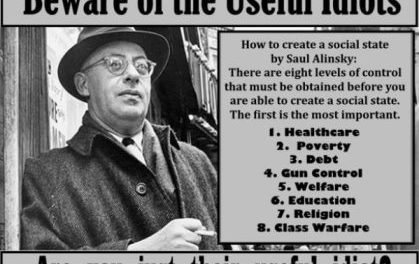 Black v White on the Elite's Chessboard: Who Makes the Next Move Mr. Alinsky?