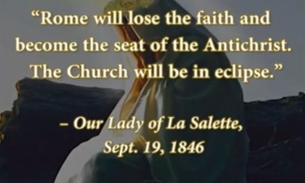The Apocalyptic Message of Our Lady of LaSalette: A Pandemic of Evil