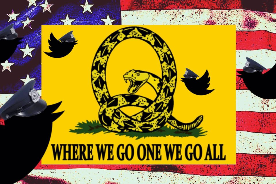Twitter Bans Thousands Of QAnon Accounts, Ignores Physical Threats, Dangerous Terrorists Groups, And Pedophilic Content