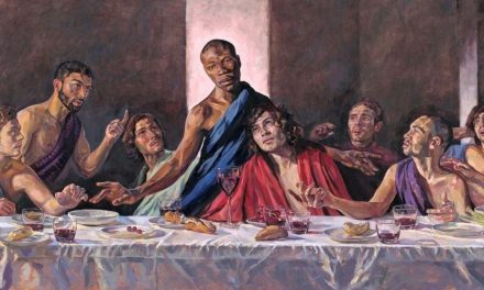 St Albans Cathedral will replace traditional Nativity scene featuring Virgin Mary with a painting of the Last Supper featuring a black Jesus in solidarity with Black Lives Matter