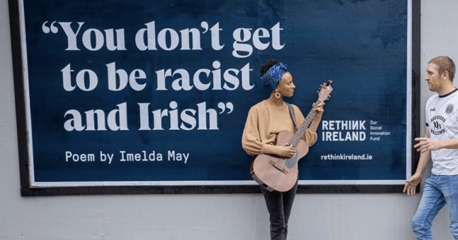 "Who is Funding the ""You Don't Get to Be Racist and Irish"" Billboards?"
