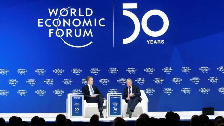 "World Economic Forum: The Institution Behind ""The Great Reset"""