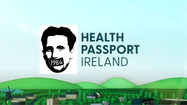 COVID 1984 : Health Passport Ireland