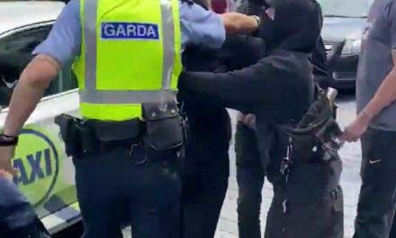 Murder in Dublin Video  – Antifa try to disrupt Protest March
