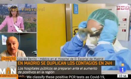 Spanish Doctor Destroys Government-Media COVID 'Crisis' Narrative