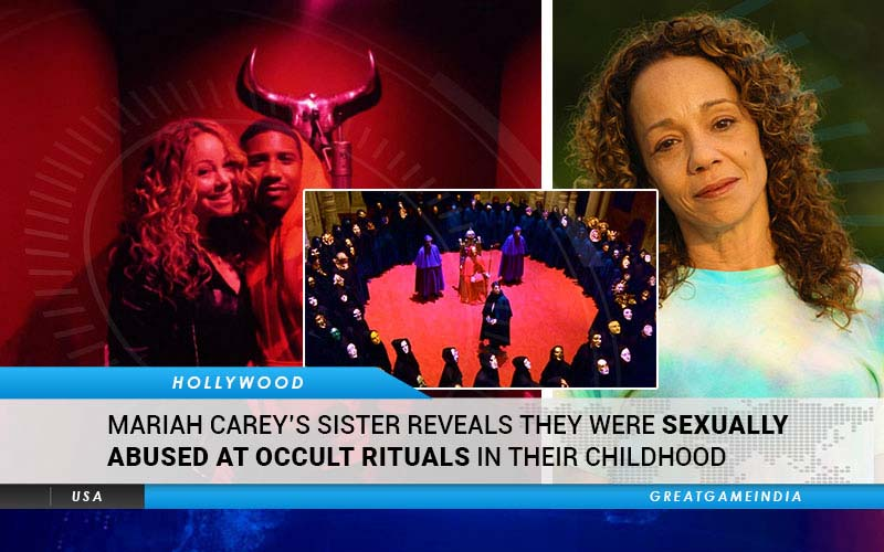 Mariah Carey's Sister Reveals They Were Raped In Satanic Rituals When They Were Kids