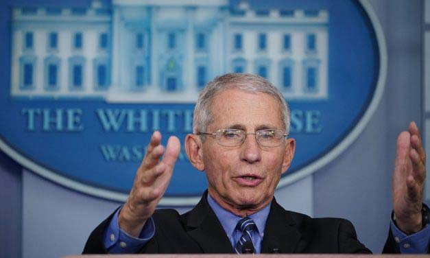 Dr. Anthony Fauci says chance of coronavirus vaccine being highly effective is 'not great'