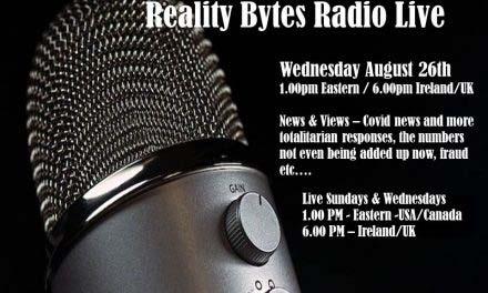 Reality Bytes Radio Live – August 26th – News & Views