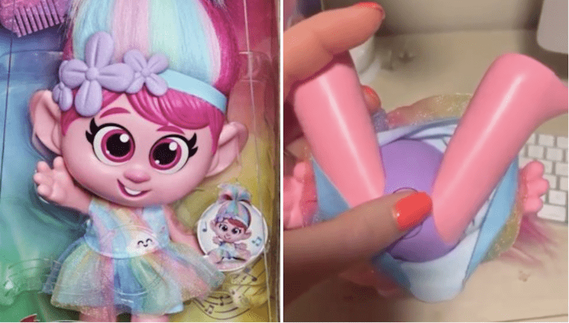 Hasbro Pulls New Trolls Doll After Complaints That It's Grooming Kids for Sexual Abuse