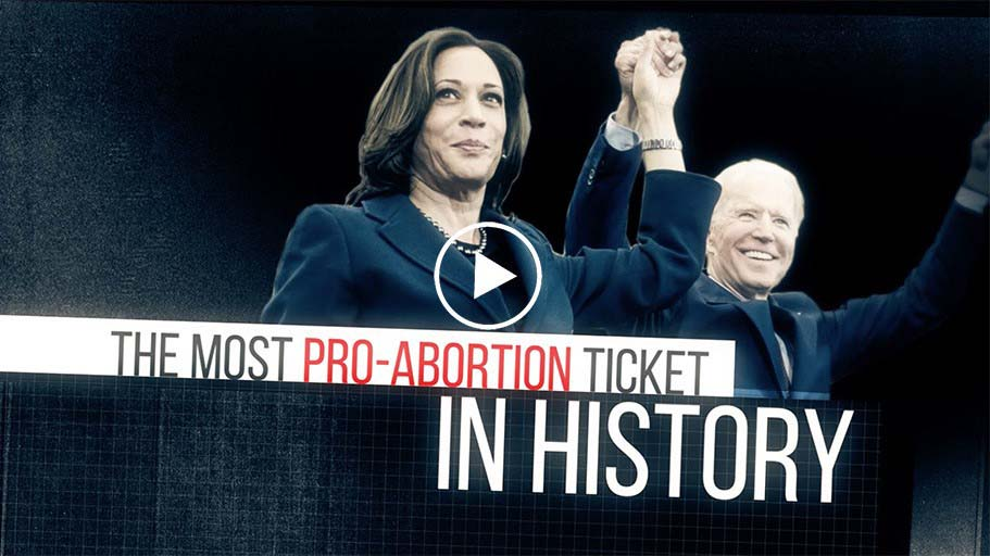 Kamala Harris Supports Abortion on Demand Anytime, Anywhere for Any Reason