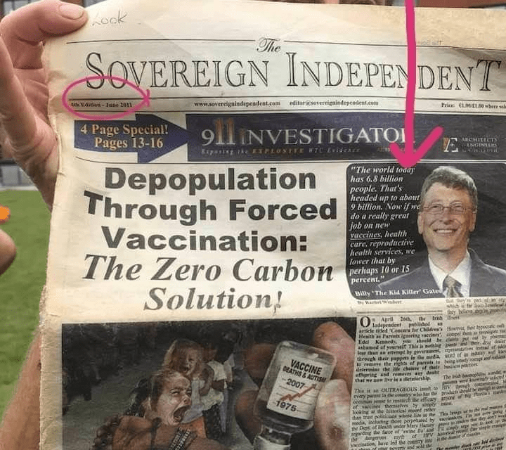 Depopulation Through Forced Vaccination: The Zero Carbon Solution