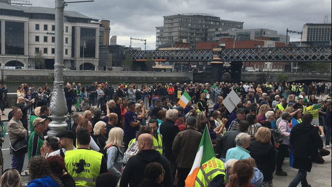 Major Protest Expected in Dublin Tomorrow – HFI Press Release