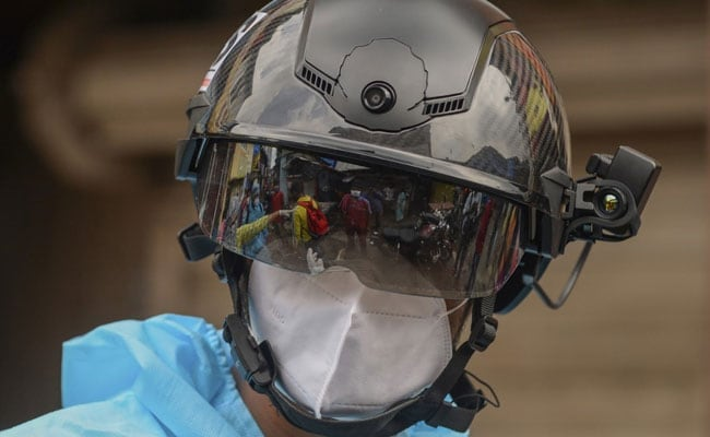 Police Use Facial Recognition Smart Helmets To Conduct Indiscriminate Surveillance At Airports