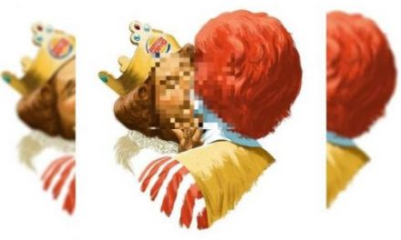 Burger King ad features homosexual kiss between its male mascot and Ronald McDonald