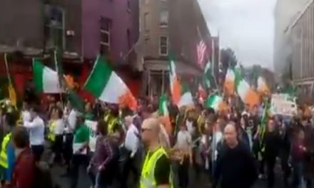 """Freedom march""- Large scale anti-mask and anti-lockdown rallies are planned from Dublin in the coming weeks"