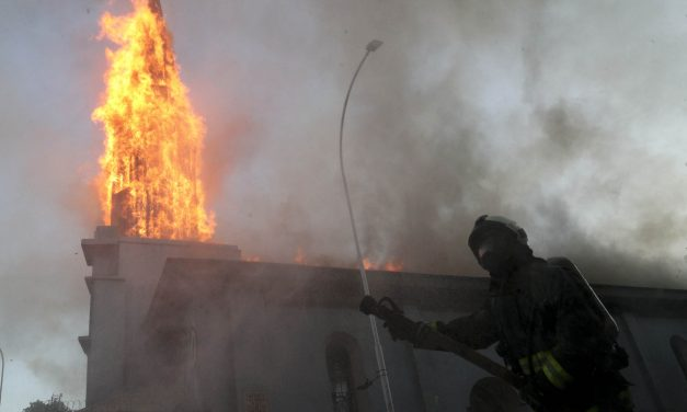 Churches are burning in Chile, and the culture war can tell us why