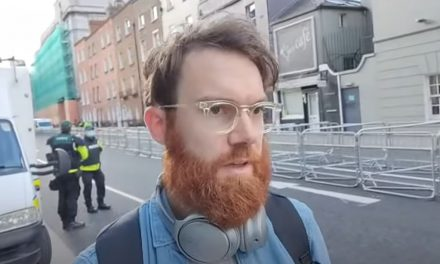 Dublin Protest –  Gearóid Murphy