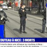 Knife attacker in Nice, France, decapitated a woman in a church and killed 2 others in the wake of an earlier beheading in Paris