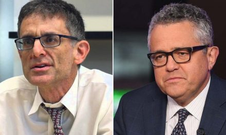 Fake News Stands with Disgraced Masturbator Jeffrey Toobin After He Exposed Himself to Professional Colleagues