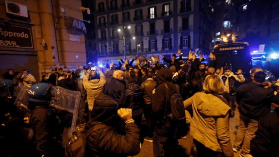 Italians Rise Up Against 'Health Dictatorship'