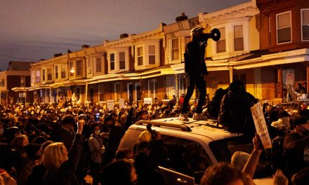 PHILADELPHIA OVERRUN BY RIOTING, LOOTING AFTER POLICE SHOOT KNIFE-WIELDING BLACK MAN