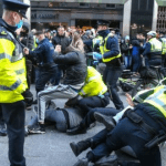 """Garda Commissioner Drew Harris says anti lockdown Protesters who clashed with gardai are """"extremist"""" and have a """"propensity for violence"""""""