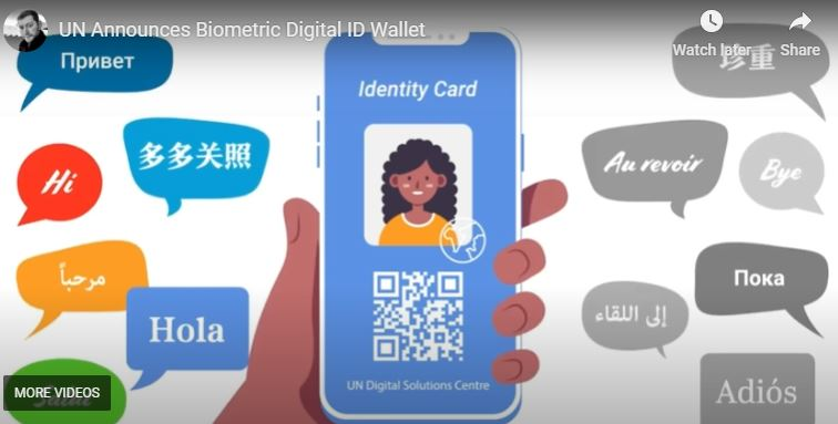 UN Announces Biometric Digital ID Wallet