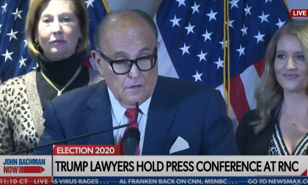 TRUMP LEGAL: Giuliani and Powell lay out latest voter 'cheating' and irregularities