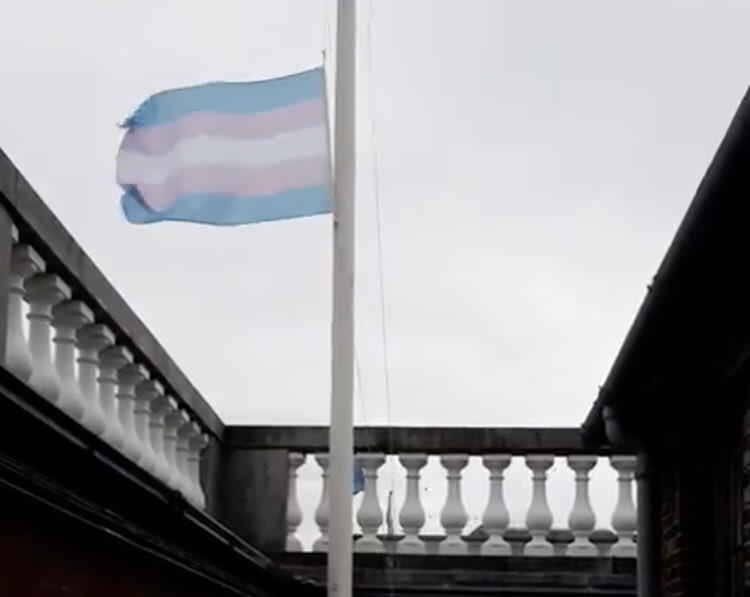 Transgender Pride Flag  Marks the 100th Anniversary of Bloody Sunday
