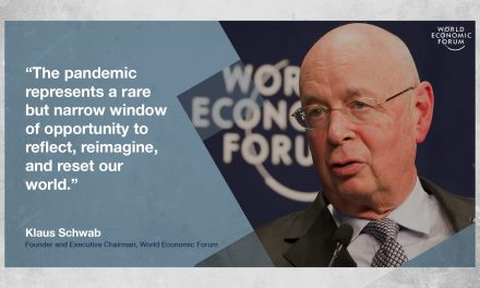 "Globalist Klaus Schwab: World Will ""Never"" Return to Normal After COVID"